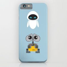 Pin for Later: 37 Pixar iPhone Cases That Will Take You to Infinity and Beyond  Wall-E and Eve iPhone 6 Case ($35)