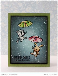 Mama Elephant and me: October Challenge - Anything Goes | card by Karin
