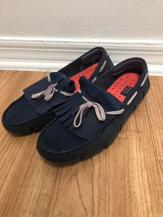 c9a3a29b97bad Swims Mens Blue Boat Shoes Size 9 #fashion #clothing #shoes #accessories  #mensshoes #casualshoes (ebay link)