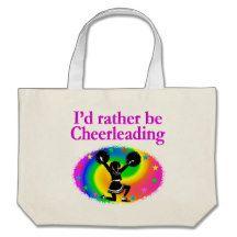 CUTE AND COLORFUL CHEERLEADING DESIGN JUMBO TOTE BAG http://www.zazzle.com/mysportsstar/gifts?cg=196898030795976236&rf=238246180177746410   #Cheerleading #Cheerleader #Cheerleadinggifts #Cheerleadergift #loveCheerleading #BowtoToe
