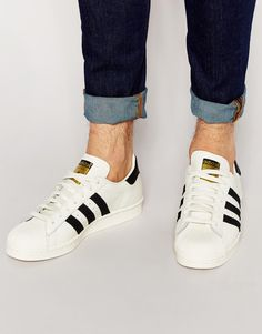 Originals Superstar 80s Trainers. Need these badly!! #adidas #superstar