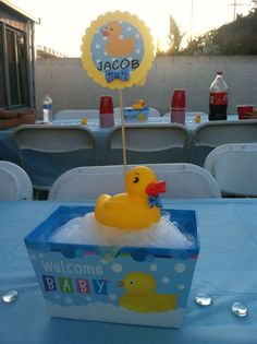 Rubber Duckies Baby Shower Party Ideas | Photo 7 Of 14 | Catch My Party