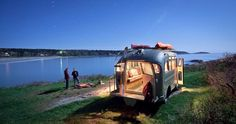 Will Winkelman aus Portland hat auf Kundenwunsch den ehemaligen Schulbus restauriert