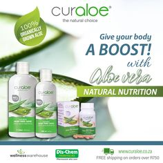 Aloe Vera skin & health care products from South Africa