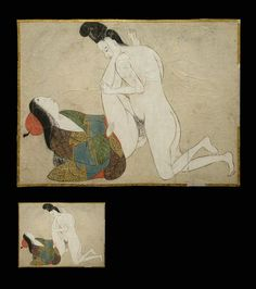 Rare Primitive Shunga Painting – Courtier – c.1650. Charcoal Sketch, Japanese Prints, Japan Art, Old Art, Chinese Painting, Gravure, Ancient Art, Erotic Art, Figure Drawing