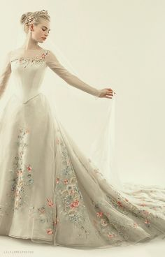 Bild über We Heart It #beautiful #cinderella #dance #disney #dress #girl #style #wedding #lilyjames