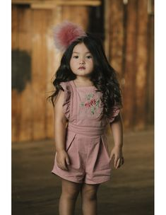 Rock your Kid Jumpsuit Pink, Rock, Baby, Kids, Bohemian Fashion, Pink Stuff, Pink Roses, Cotton, Young Children