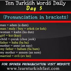 Learn Turkish Language, Learn A New Language, Turkish Lessons, Sms Language, Good Vocabulary Words, Grammar Tips, Coding Languages, Education English, Learning Spanish