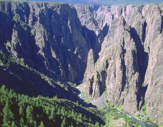 The Black Canyon is one of the most spectacular gorges in America.
