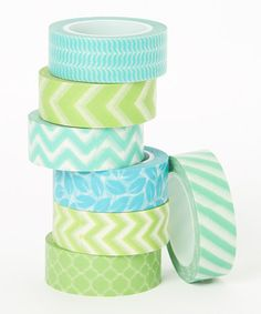 Love this Under the Sea Washi Tape Set by Two Berry Creative on #zulily! #zulilyfinds