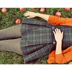 40% Off SALE Apples - 5x7 Photograph Modern Autumn Portrait - vintage... ❤ liked on Polyvore