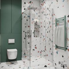 Small Studio Apartment Design, Small Room Design Bedroom, Home Room Design, Diy Bedroom Decor, House Design, Baby Bathroom, Childrens Bathroom, Baths Interior, Bathroom Interior Design