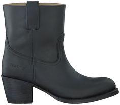 Zwarte Sendra Korte laarzen 12050