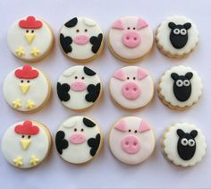 Farm Animal Biscuits