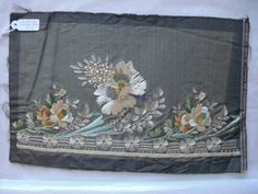 Embroidery Sample (Italy), late 18th, Venice, Collection Palazzo Mocenigo