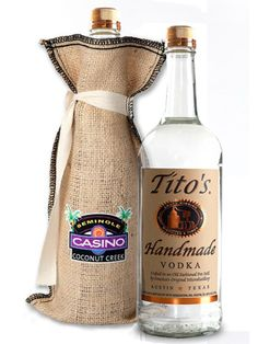 Promotional Items For Business, Promotional Giveaways, Coconut Creek, Burlap Crafts, Corporate Gifts, Vodka Bottle, Drinks, Handmade, Free