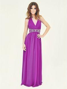 Jane norman maxi prom dress purple