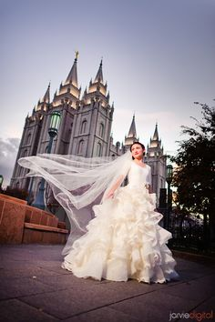 Whimsical Femininity - Modest Wedding Gown