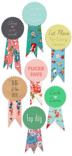 Pugly Pixel's Award Ribbon PhotoshopTutorial - Home - Creature Comforts - daily inspiration, style, diy projects + freebies