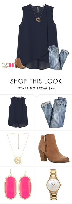 """""""been sitting eyes wide open and i got one thing stuck in my mind"""" by secfashion13 ❤ liked on Polyvore featuring MANGO, J.Crew, ALDO, Kendra Scott and Kate Spade"""