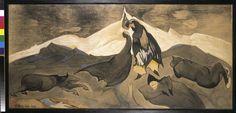 Muzeum Cyfrowe dMuseion - Pocałunek mongolskiego księcia by Witkacy