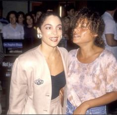 Cree Summer and Jasmine Guy