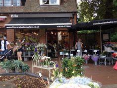 Our shop on Liston Court, Marlow www.flowerstudioshop.co.uk