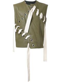 CRAIG GREEN leather stitch vest. #craiggreen #cloth #vest