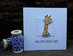 Eline's cute animals. Marianne Design, Baby Cards, Scrapbooking, Cute Animals, Van, Handmade Cards, Blog, Babies, Pretty Animals