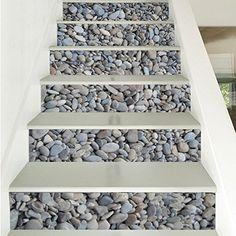 Stairs Tiles Design, Staircase Design Modern, Floor Design, Modern Design, Porch Ceiling, Hallway Flooring, Stair Risers, Wall Stickers Murals, Small House Design