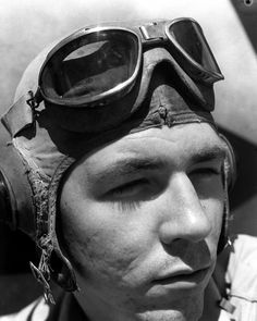 """Black Sheep"" First Lieutenant Henry A. McCartney of , Russell Islands, October 1943"