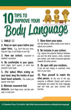Ten Ways To Improve Your Body Language