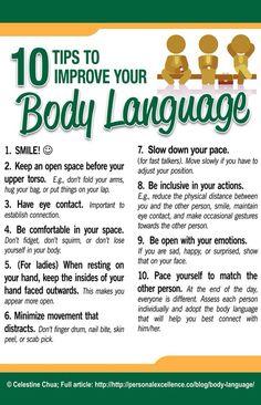 Ten Ways To Improve Your Body Language