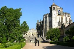 The Convent of Christ, once the headquarters of the Knights Templar.