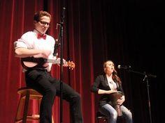 "Ocean City's Got Talent   Corey and Mackenzie Greene present ""Close Your Eyes"" by Meghan Trainor."