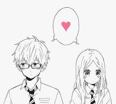 #Manga Hibi Chouchou-Kawasumi & Suiren.❤︎ So sweet