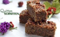 Quittenschnitten -vegan, glutenfrei und eiweißreich