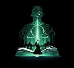 7 - Harry otter and the Deathly Hallows Part l - Harry Potter Illustration Series - Created by Dan Elijah Fajardo Fanart Harry Potter, Harry Potter Poster, Magia Harry Potter, Harry Potter Artwork, Harry Potter Drawings, Harry Potter Tumblr, Harry Potter Wallpaper, Harry Potter Pictures, Harry Potter Film