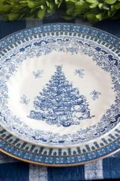 Blue and White - The Enchanted Home