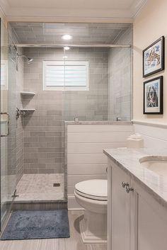 Modern Farmhouse, Rustic Modern, Classic, light and airy master bathroom design tips. Bathroom makeover a few ideas and bathroom renovation some ideas. Budget Bathroom Remodel, Bath Remodel, Bathroom Renovations, Bathroom Makeovers, Shower Remodel, Bathroom Showrooms, Shower Enclosure, Small Bathroom, Bathroom Ideas