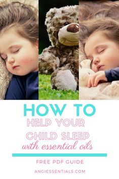 Their sleep is so sweet-when they sleep that is.  Help your kiddos get the sleep they deserve with this FREE PDF download all about kids sleep.  And come visit angiessentials.com for more great Essential Oil tips!