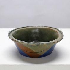 Bowl 02 press mould bowl dipped glazed #glazing #ceramics #pottery #clay #ceramicart #learnsomethingnew #potteryclass #ceramicsclass #handmade #handmadepots