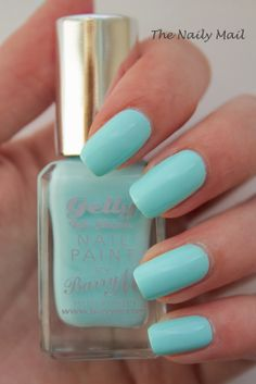 The Naily Mail | UK Nail Art Blog: Barry M Spring 2014 Gelly Nail Effect Polishes: Sugar Apple, Huckleburry & Rose Hip