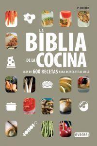 Más de 600 recetas imprescindibles para la cocina de cualquier hogar: entrantes y aperitivos, salsas, ensaladas, sopas, verduras, arroces, legumbres, huevos, pescados, carnes, postres, etc. http://www.imosver.com/es/libro/la-biblia-de-la-cocina_0899980916
