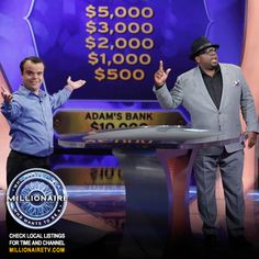 "Host Cedric ""The Entertainer"" has an all-new week, and this game is more fun than ever! Go to www.millionairetv.com for time and channel to watch #MillionaireTV!"