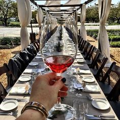 Rosé all day?  Of course! One of my favorites (wait for it, seriously) is @kjwines' rosé - a bit of RS to satisfy your summertime  cravings, seriously good. Even better: I've arrived at their Sonoma County estate for their first #FarmToTable dinner of the season - check out their website for their monthly event and dine under the stars, on #seasonal food, amongst their #organic #garden.