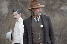 Kurt Russell and Matthew Fox in Bone Tomahawk