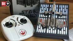 *** BILDplus Inhalt *** Star-Wars-Drohne im Test - Mit dem X-Wing auf Patrouille