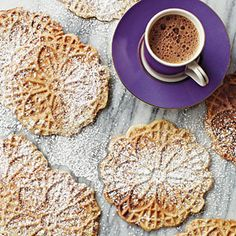 At last, the beloved cookie is now gluten-free friendly! You'll need a pizzelle iron to make these delicate Italian waffle cookies. Prepare the recipe using the Cannoli Shell Variation to make delicious cannoli.