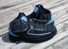 air jordan ii nuggets away melo pe 01 Air Jordan II Carmelo Anthony Nuggets Away  PE 6a14da603